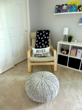 Pouf from Crate & Kids